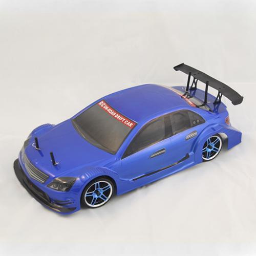 Радиоуправляемый автомобиль для дрифта 1:10 4WD - 2.4G Мерседес синий (36 см)